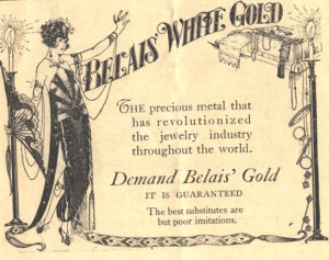 "David Belais was perhaps even better known for his invention of ""white gold"" than for his extensive accomplishments in humane work."
