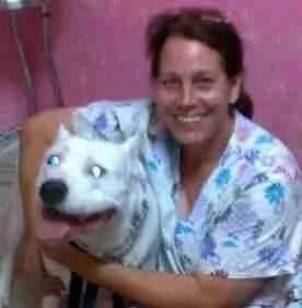 Beth Clifton as nonprofit s/n clinic vet tech.