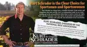Rep. Kurt Schrader campaign literature.