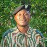 Dexter Chilunda, head of law enforcement at Liuwa Plain National Park in Zambia