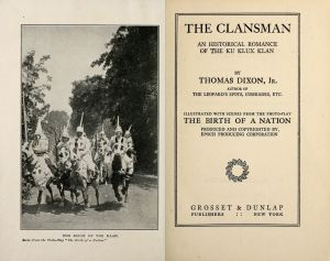 the-clansman-1905-title-page