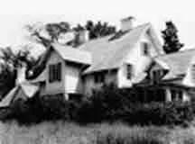 Kennicott Grove house in 1975
