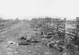 Antietam,  scene of bloody deer culls in recent years,  was also scene of some of the bloodiest fighting during the U.S. Civil War.