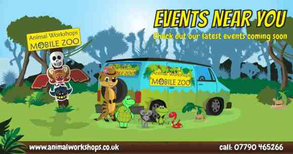 Manningtree Market – Animal Workshops Mobile Zoo Event – August 9th 2017