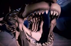 megalodon mouth