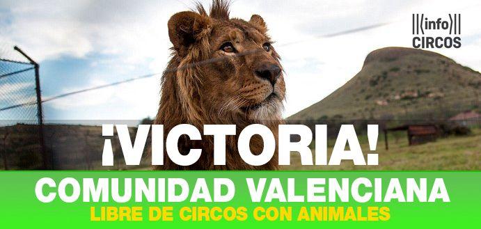 Comunidad Valenciana se convierte en la sexta autonomía española en prohibir los circos con animales