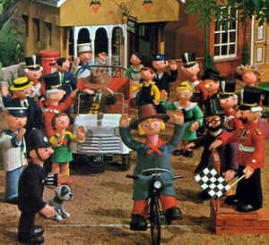 Camberwick Green - idyllic village in the children's TV programme