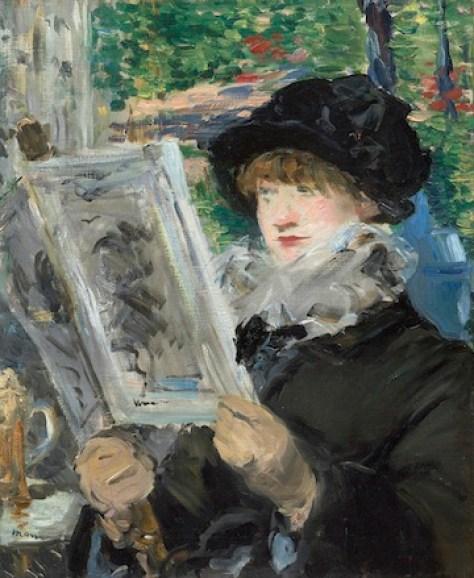Manet,womanreading