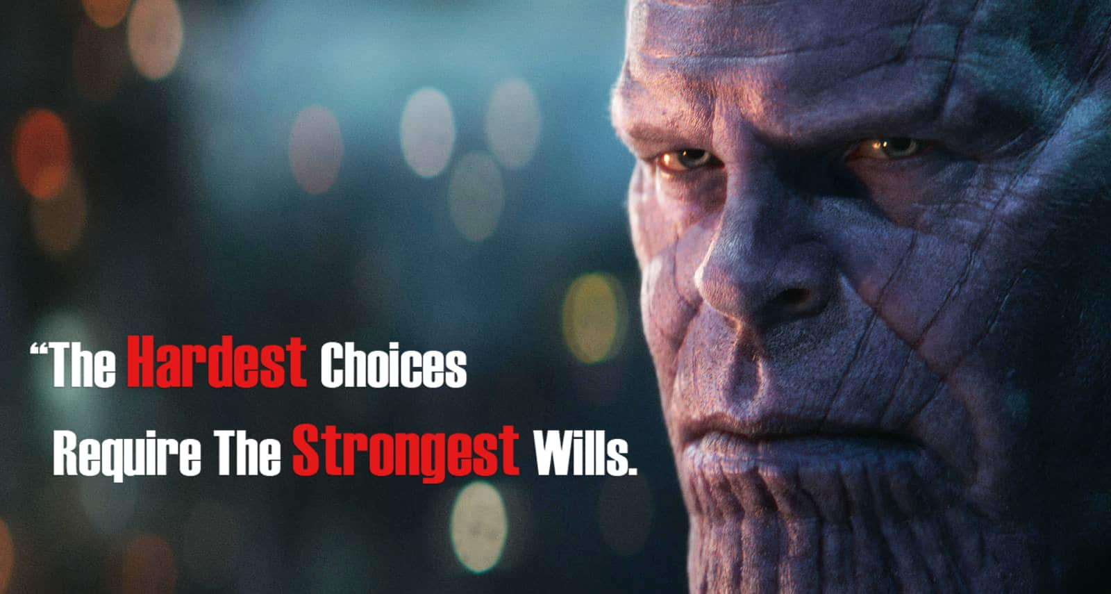 Thanos Quotes Balance Posted By John Sellers