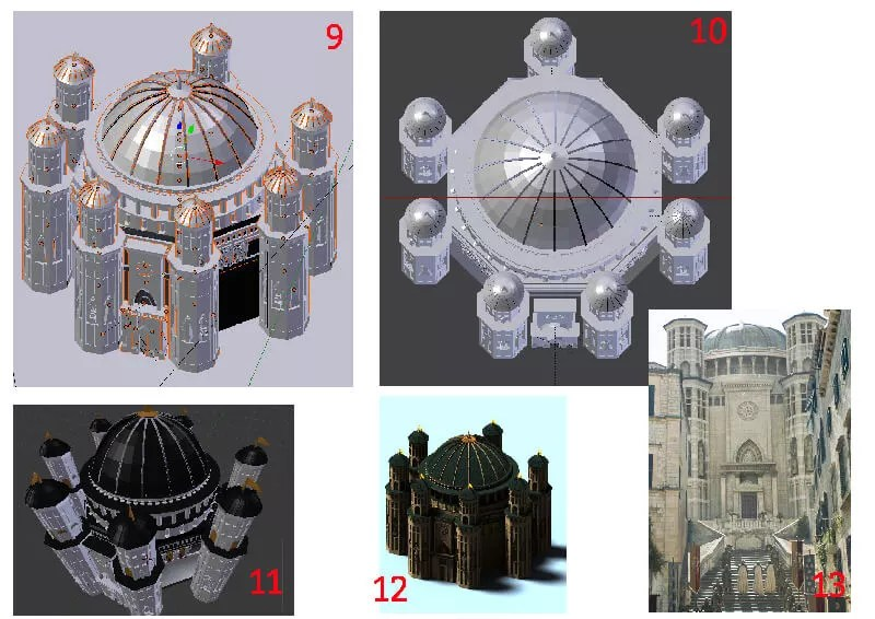 Animation-Figurine-Décors-Temple-de-Baelor-moodboard-2-