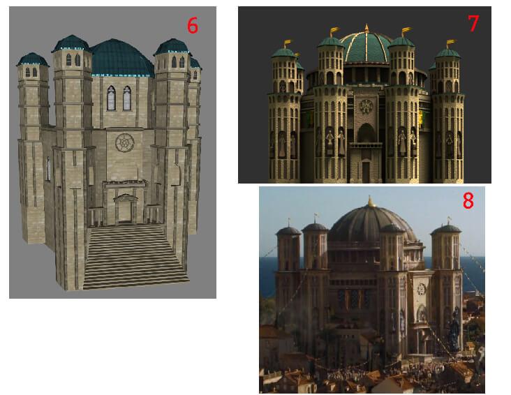 Animation-Figurine-Décors-Temple-de-Baelor-moodboard-3