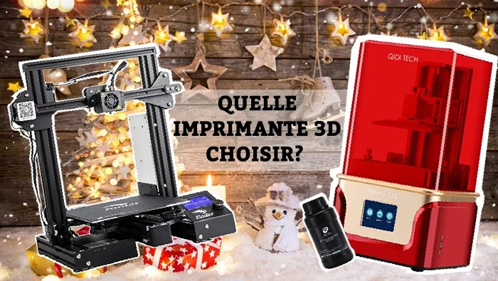 Animation Figurine Decors - Quelle imprimante 3D chosir pour ce noel 2019