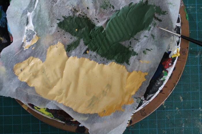Étape 8 : Dernier rehaussement de couleur pour les vetements (couleur sable)