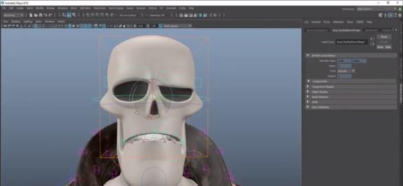 Logiciel de modelisation 3D Maya