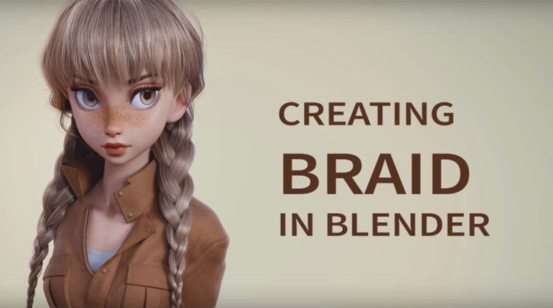 Creating Braid in Blender