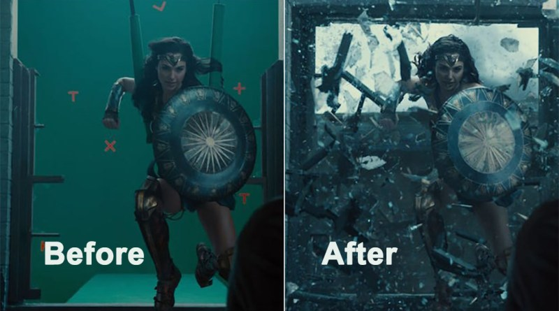 Wonder Women VFX