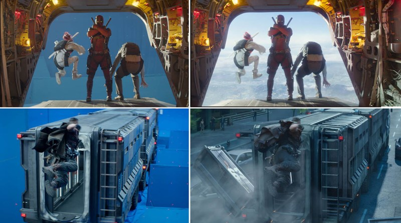 deadpool 2 VFX