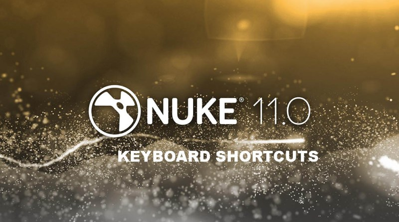 Nuke Keyboard shortcuts