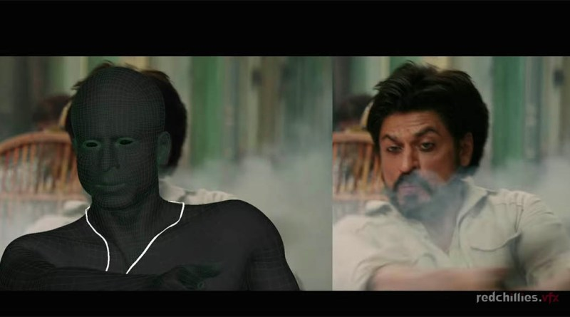 Raees vfx