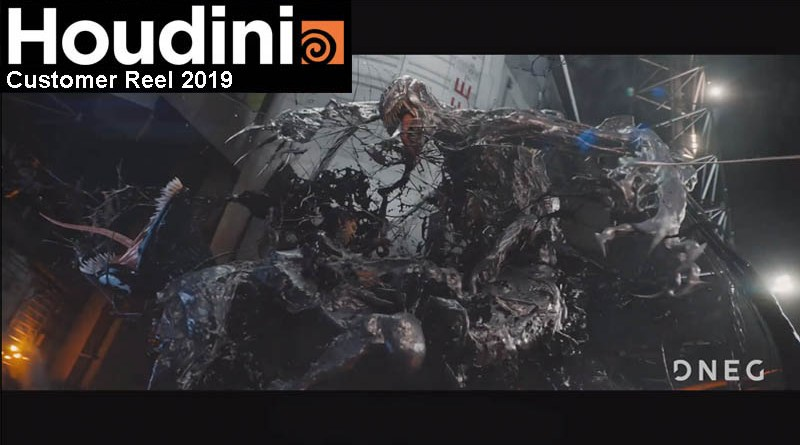Houdini Customer Reel 2019