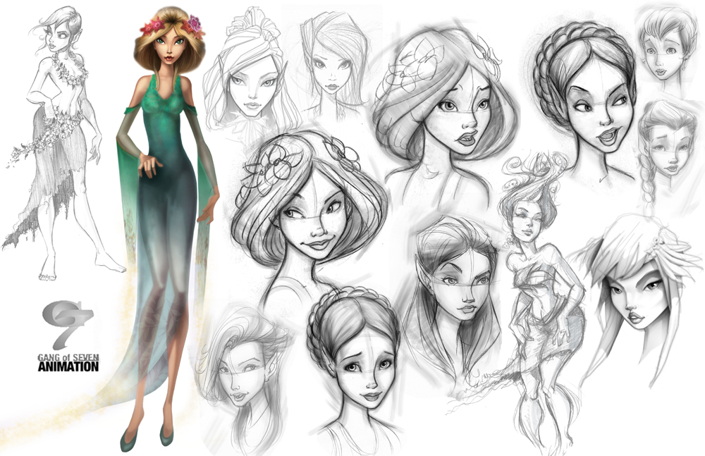 Character Design Artist Interviews : Brent gordon animation insider