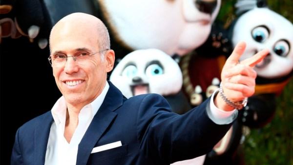 Mandatory Credit: Photo by James Shaw/REX/Shutterstock (5610023w) Jeffrey Katzenberg 'Kung Fu Panda 3' film premiere, London, Britain - 06 Mar 2016