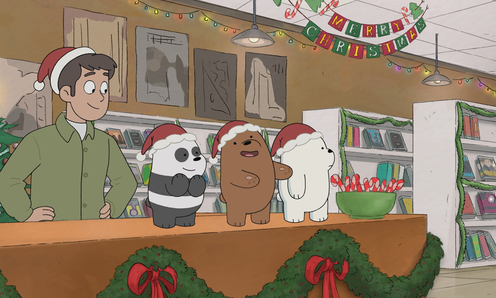 Image result for we bare bears christmas movies