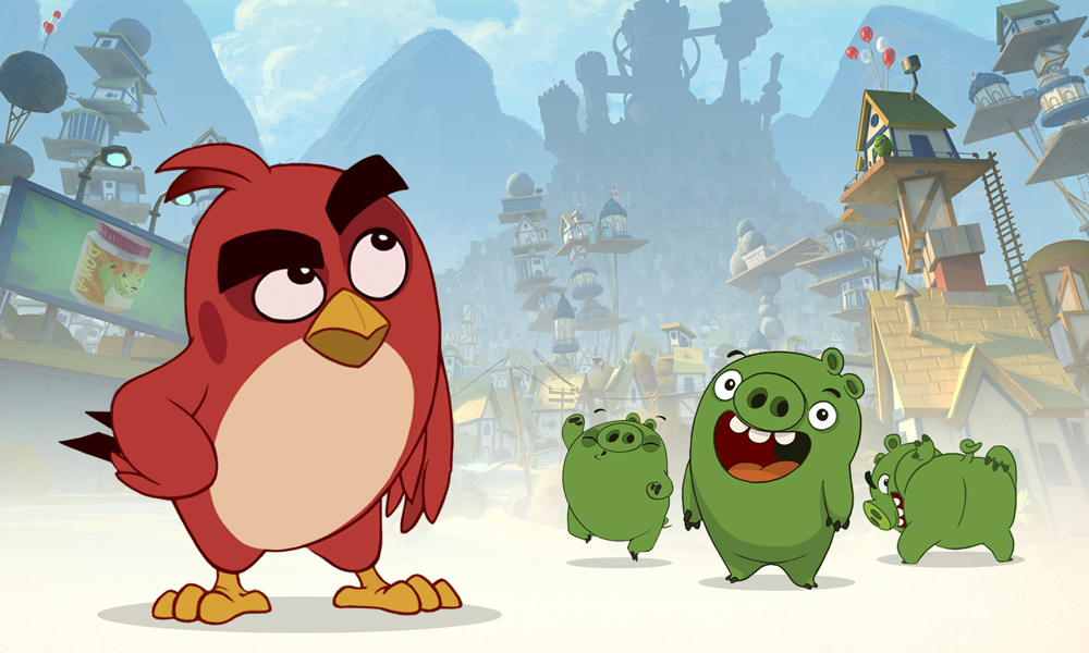 Cake Hatching First Long Form Angry Birds Toon