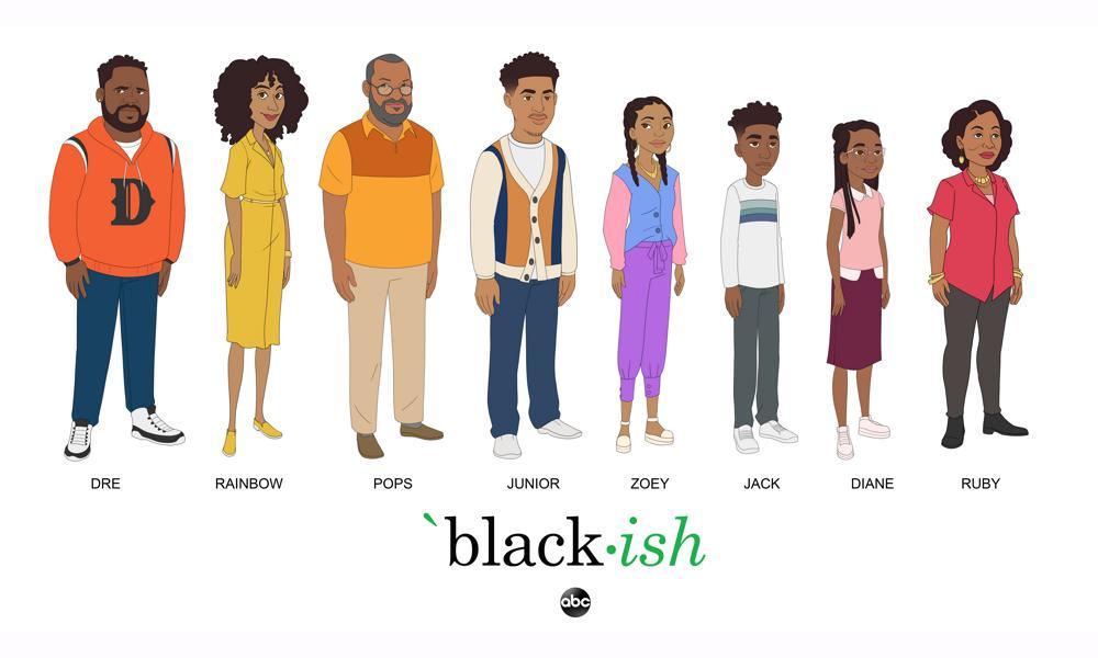 New Artwork: 'Black-ish' Gets Animated Oct. 4 | Animation Magazine