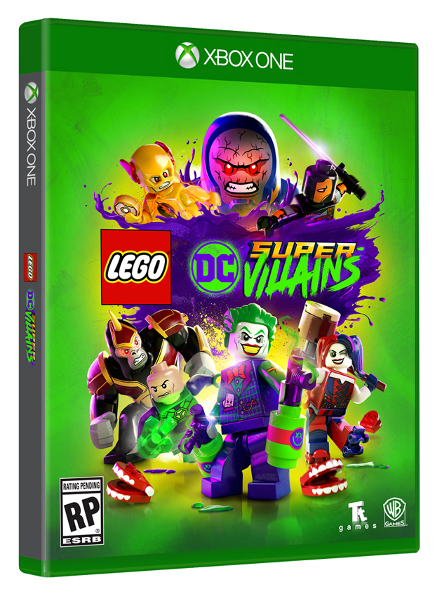 SDCC WB Interactive Unmasks LEGO DC Super Villains