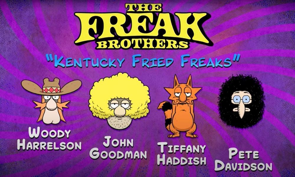Watch: 'Freak Brothers' Debuts Starring Woody Harrelson, John Goodman, Pete Davidson & Tiffany Haddish | Animation Magazine