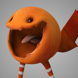 AM Rig MonsterBall Animation Characters