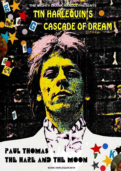 Poster for Tin Harlequin's Cascade of Dream