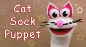 איך בונים בובת כף יד חתול – סרטון הדרכה
