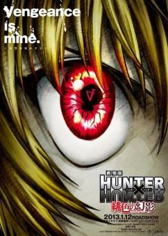 carteles de la película de Hunter X Hunter