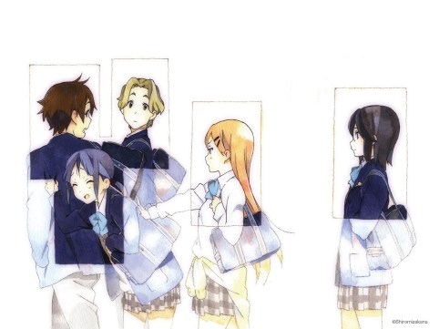 Kokoro Connect - Wallpaper