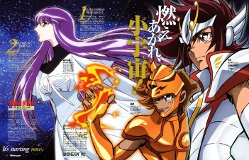 Saint Seiya Omega - Wallpaper 4