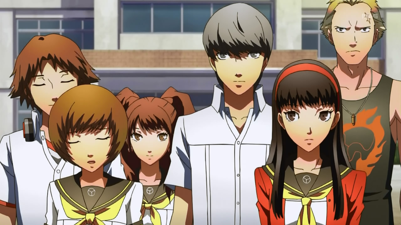 Image result for persona 4 anime