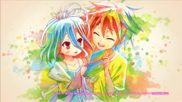 No Game No Life anime review ED
