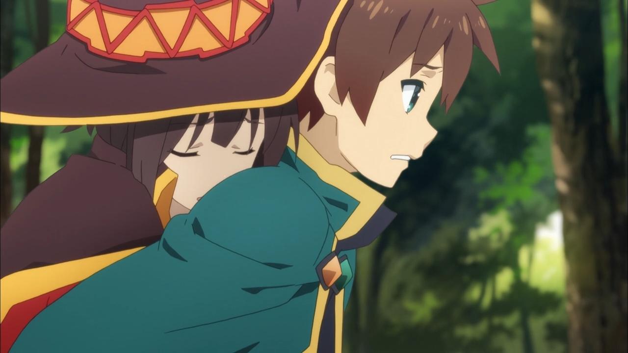 Image result for konosuba megumin kazuma
