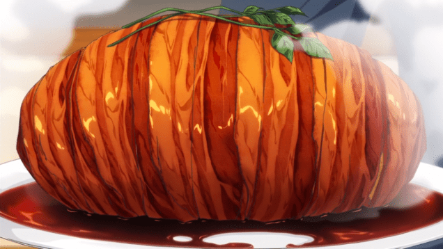 Food Wars Fake Pork Roast
