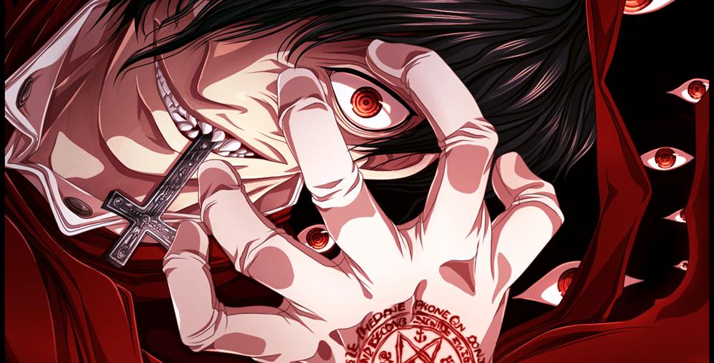 Halloween horror anime Hellsing