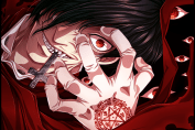 Halloween horror anime Hellsing
