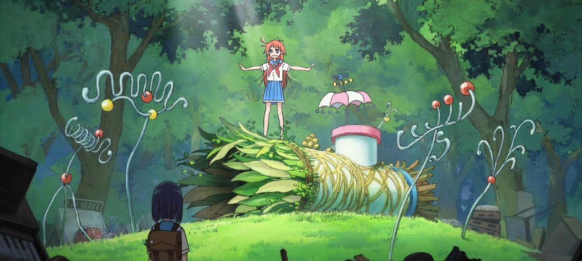 Flip Flappers anime review
