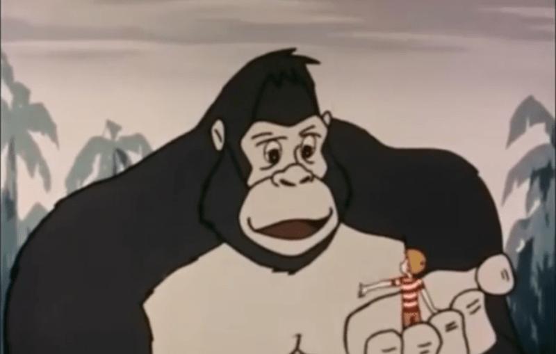 King Kong Show. Rankin, Bass en Japanse animators.