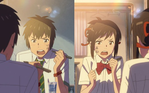 anime review Your Name Nederland