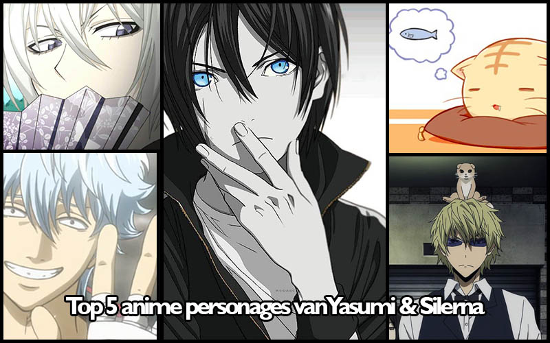 Top 5 favoriete anime personages