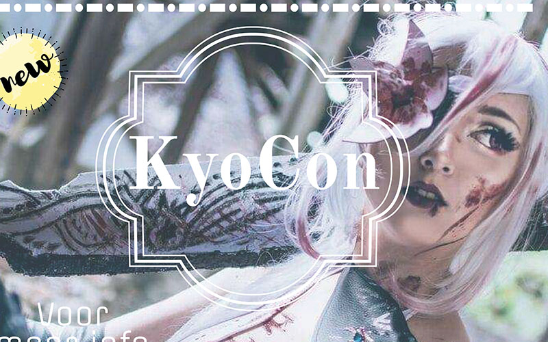 KyoCon cosplay conventie en muziek evenement voor het goede doel.