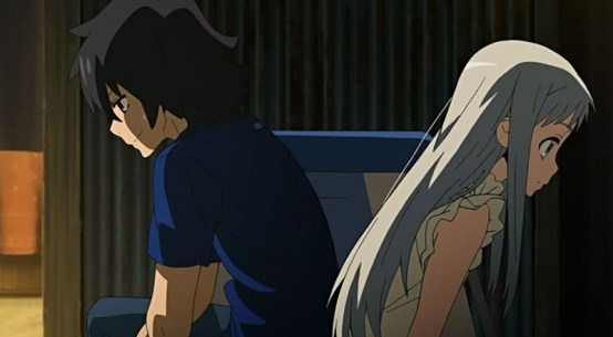 Anohana anime review Netflix