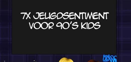 Jeugdsentiment voor 90's kids